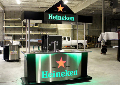 Heineken Edge Draft Package Bar Carts 11