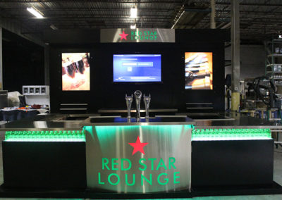 Heineken Red Star Lounge Kiosk 12