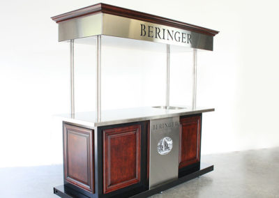 Beringer Wine Bar Cart
