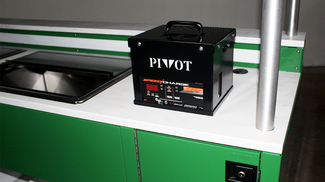 PIVOT launches the PIVOT Power Pack – Cordless Cart
