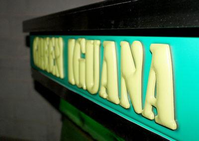Green Iguana Full Service Bar Cart 7