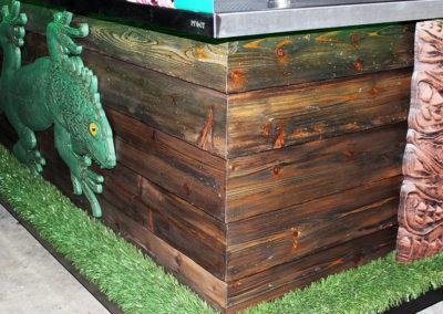 Green Iguana Full Service Bar Cart 8
