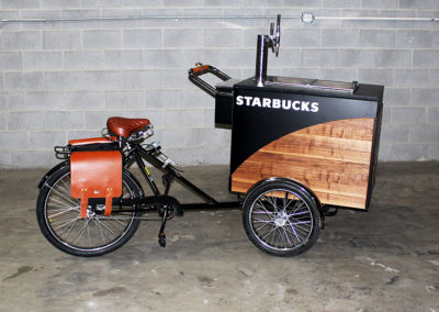 Starbucks Nitro Coffee Bikes