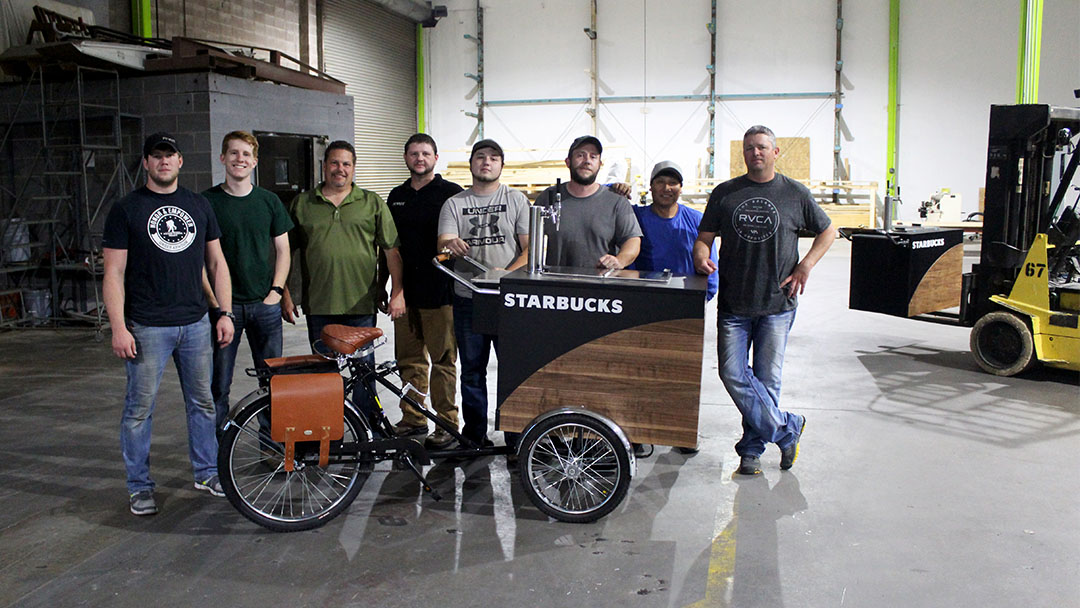 starbucks nitro coffee bikes   pivot