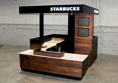 Starbucks ICON Coffee Kiosk at Kroger
